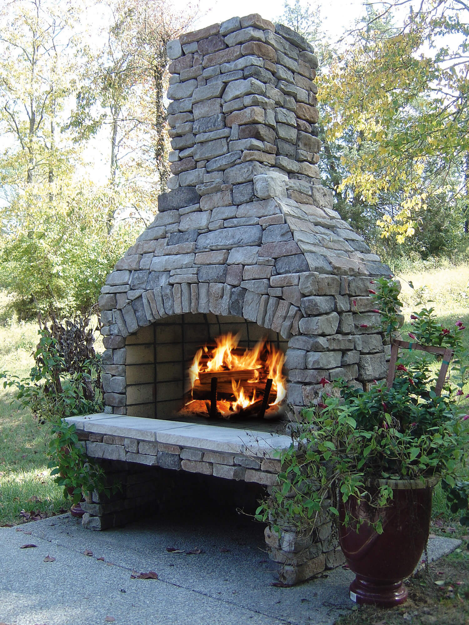 Outdoor Fire Places Lee Building Products
