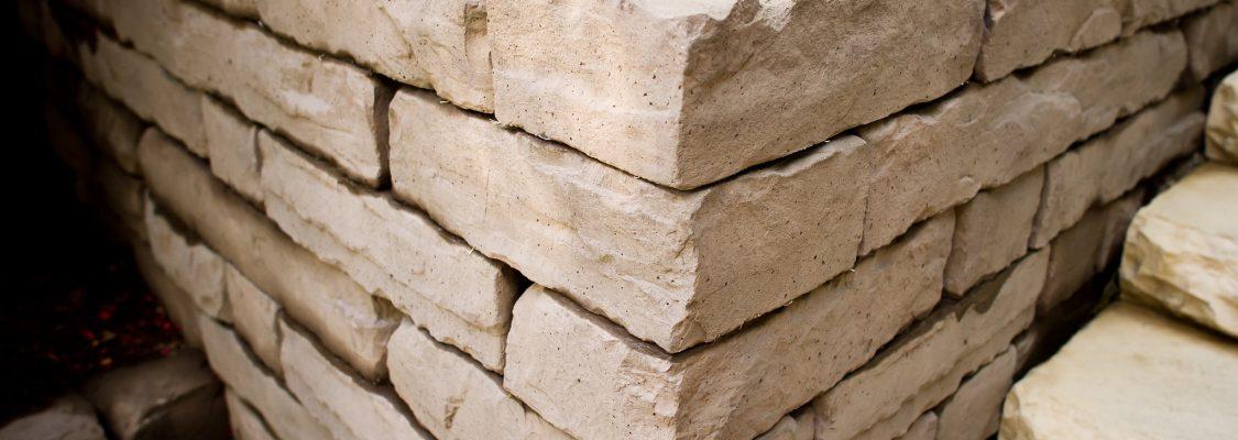 Kodah Retaining Wall | Color: Sandstone