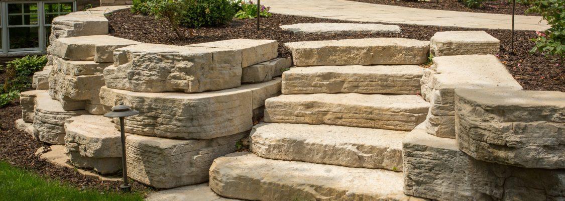 Irregular Steps | Color: Sandstone